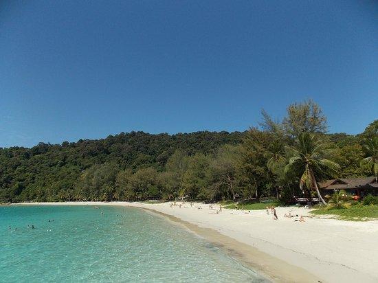 spiaggia perhentian island resort
