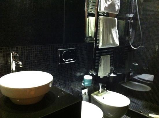 Hotel Siena : bagno matrimoniale