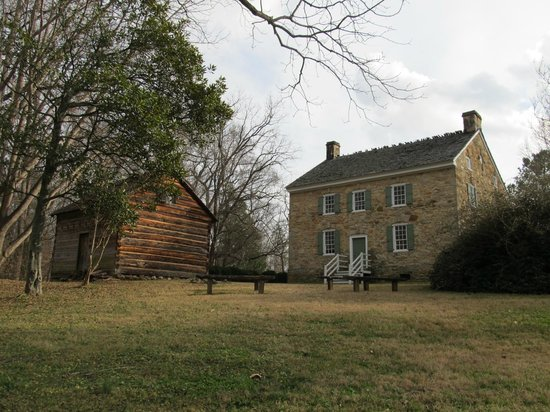 Charlotte Museum of History: Front of the House