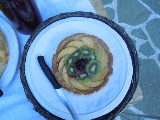 La Zuppa Inglese B&B: crostata di frutta
