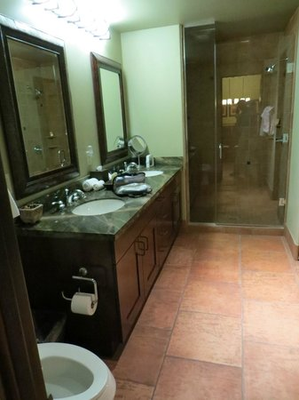 Hyatt Pinon Pointe: Main Bathroom and LARGE Shower