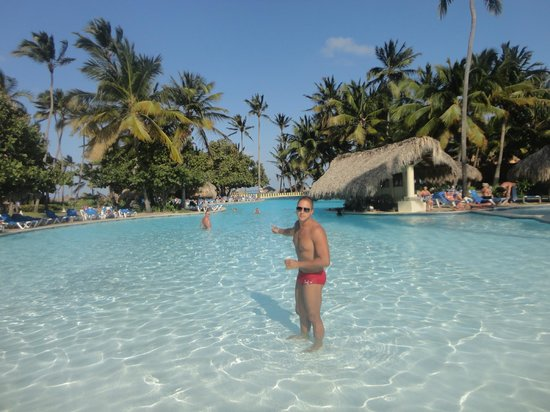 Caribe Club Princess Beach Resort & Spa: Área de lazer principal do hotel
