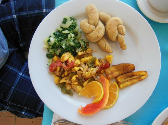 Home Sweet Home Resort: ackee & saltfish