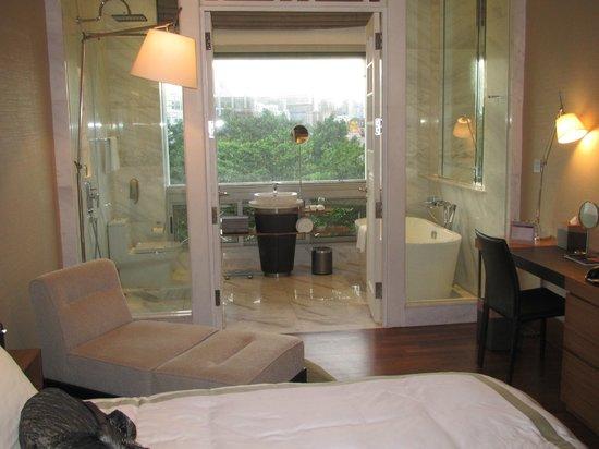 Hotel Fort Canning: badkamer