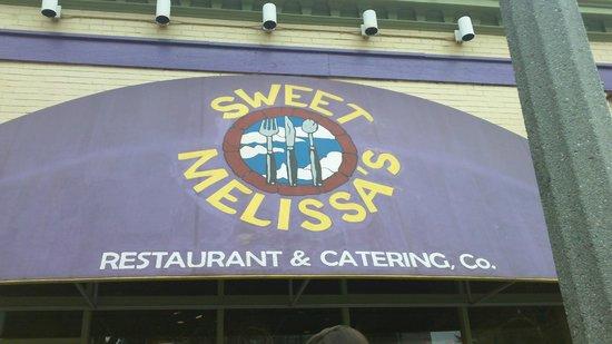 Sweet Melissa's: Logo.