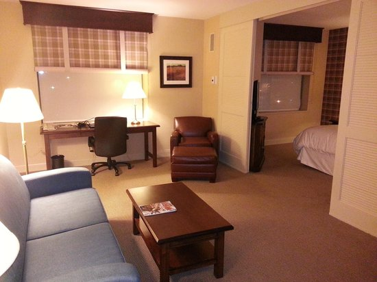 Sheraton Suites Akron/Cuyahoga Falls: Another view of the living room