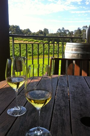 Vasse Felix: Wine on the deck