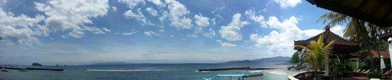 Pondok Bambu: ocean view
