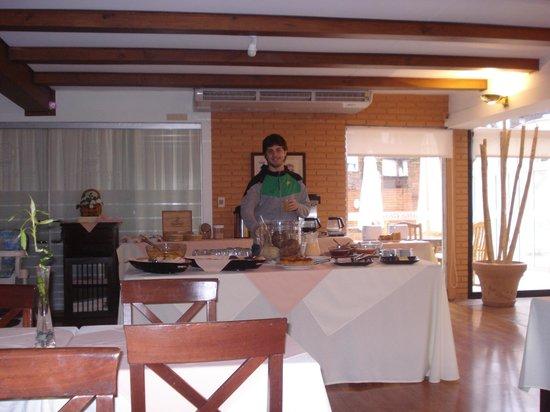 Salto Grande Hotel: desayuno esquisito