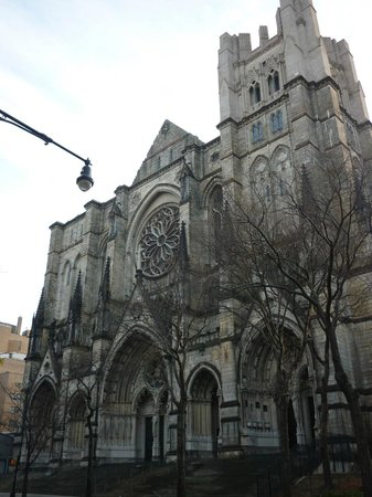 Cathedral Church of Saint John the Divine: Cathedral exterior