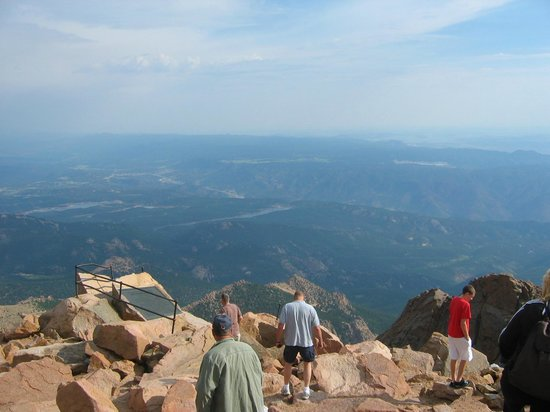 Pikes Peak View From The Top