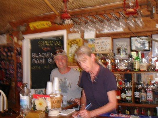 Margarita Villa: great bar tender