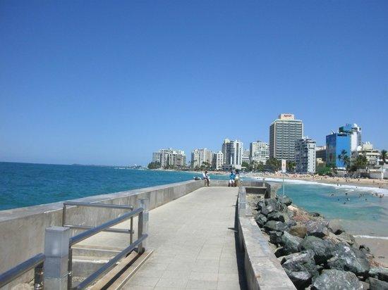Sandy Beach Hotel: City View