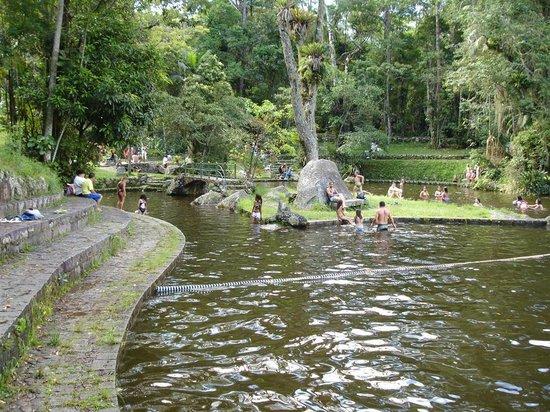Teresopolis, RJ:                   Piscina de água corrente do Parque