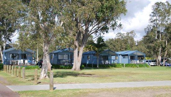 Ingenia Holidays Lake Macquarie: 4 Water front villas