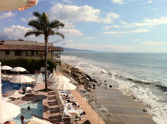 Four Seasons Resort The Biltmore Santa Barbara: Coral Casino view