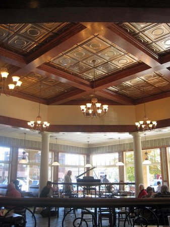 McDonald's: Beautiful Pressed-tin Ceiling