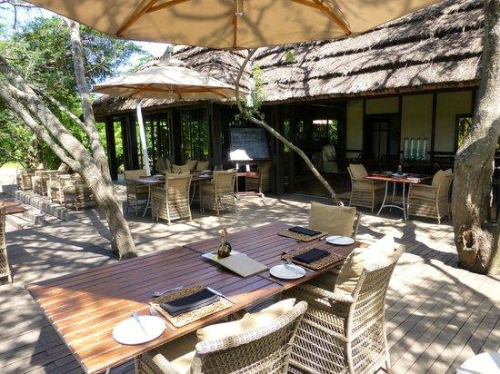 andBeyond Phinda Vlei Lodge: Dining