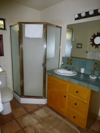 Blue Iguana Inn: Room 10 bathroom