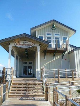 Persimmons Waterfront Restaurant: Persimmmons Restaurant Entrance