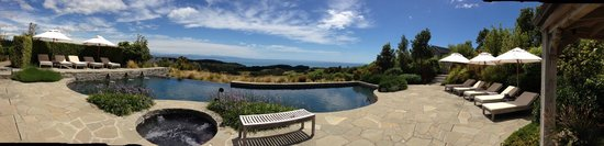 The Farm at Cape Kidnappers: View from the pool.