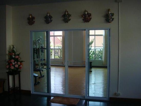 Chayayon Boutique Lodge & Villa: ห้องฟิตเนส 