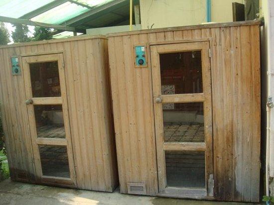 Chayayon Boutique Lodge & Villa : ห้อง Sauna คิดค่าบริการไม่แพง