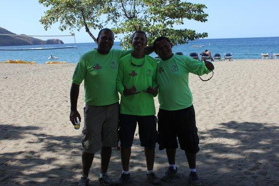 Hotel Riu Guanacaste: Gainer, Roberto, & Jose Li