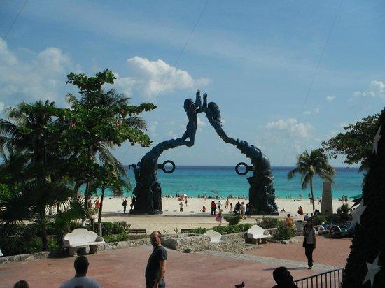 Quinta Avenida: Les magnifiques plages de Playa del Carmen