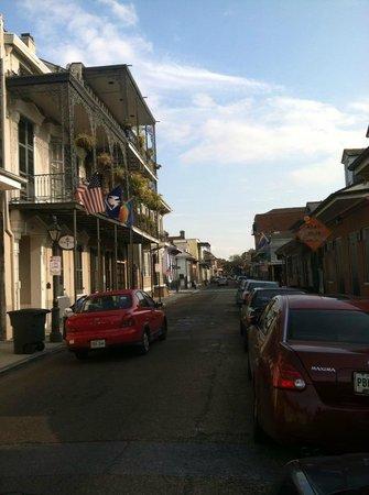 Bourbon Street: saint ann st