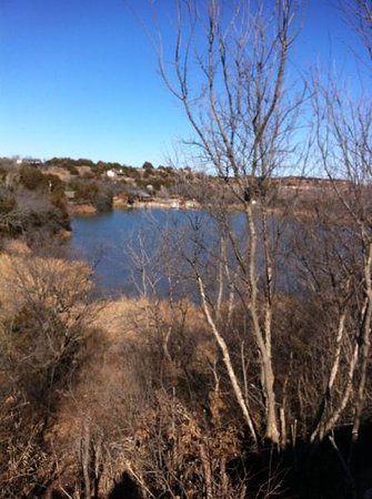 Roman Nose State Park:                                     view from the lodge