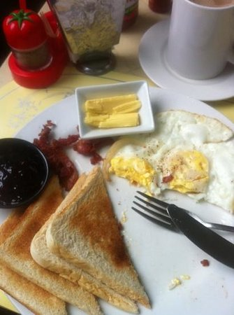 Sabang, Filipinas: breakfast