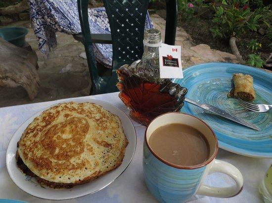Hotel Refugio de la Luna:                   Breakfast