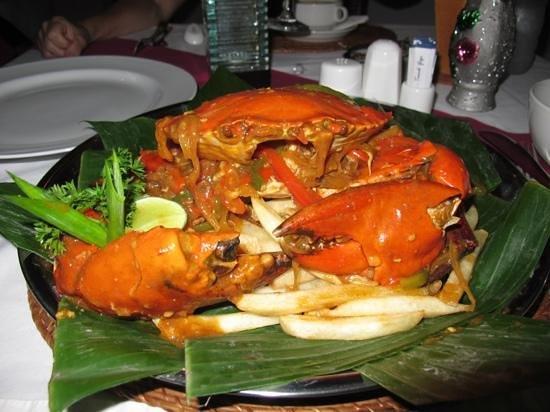 Yogi's Paradise and Grill: Chilli Crab Yogi Style
