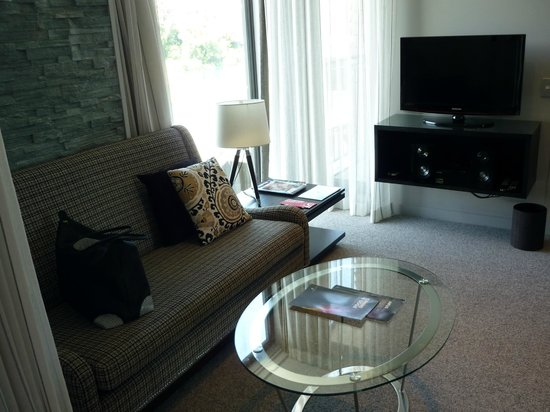 DoubleTree by Hilton Hotel Queenstown: Lounge area