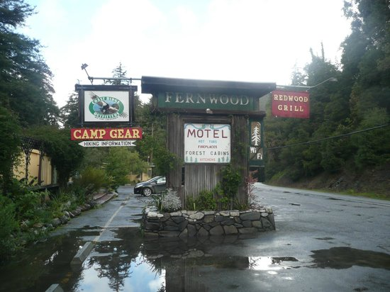 Fernwood Resort: Motel Sign