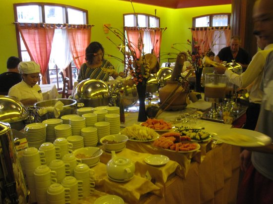 Steung Siemreap Hotel: Breakfast Buffet