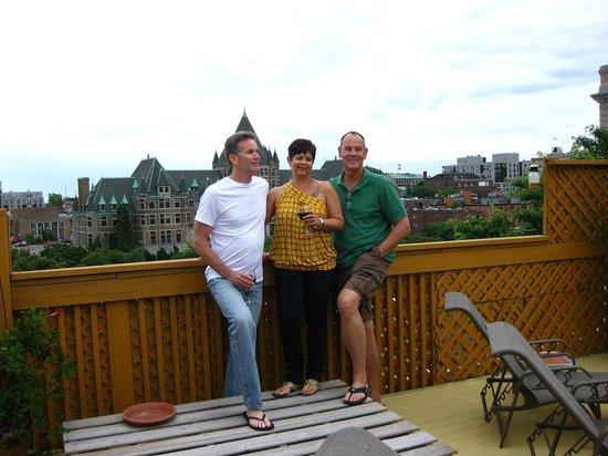 La Conciergerie: Up on the roof.