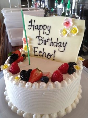 "The Kahala Hotel & Resort : a special ""tour birthday cake from the Kahala!"