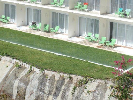 Secrets Huatulco Resort & Spa: showing the jaccuzis