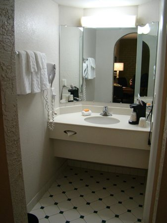 La Quinta Inn Tampa Bay Airport: Vanity area in room 108