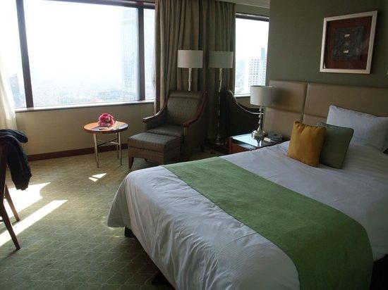 Okura Garden Hotel Shanghai: 部屋の広さもちょうどよかったです