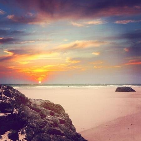 Coolangatta, Αυστραλία: Beautiful sunrise at Kirra!