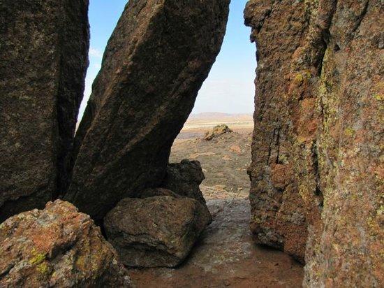 Quartz Mountain Nature Park: View to the north