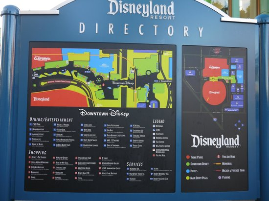 Downtown directory - Picture of Disneyland Park, Anaheim - TripAdvisor