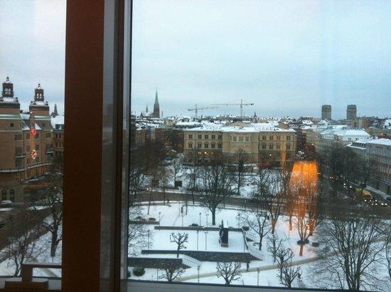 คลาเรียนโฮเต็ล ไซน์: View from the room (9th floor) at day