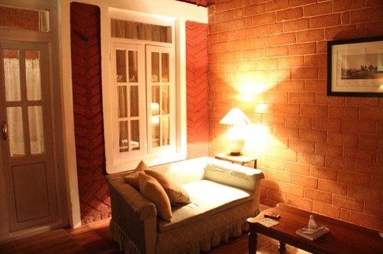 Lymond House: living area