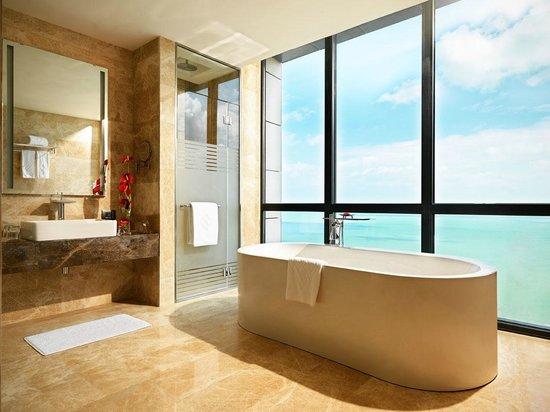 Equinox main hotel deluxe Gym Bilgah Beach Hotel Deluxe King Room Bathroom Equinox Night Club Picture Of Bilgah Beach Hotel Baku Tripadvisor