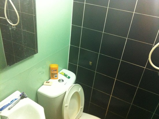 Chilli Bangkok Hotel:                   Small, but worked ok. The toilet made ominous burping noises at night whenever