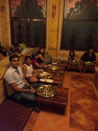 Chokhi Dhani: Hospitality at its very best :)
